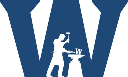 Welder Vector