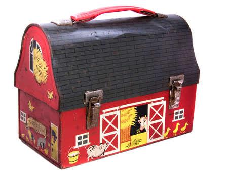 child's: 1950s Childs Metal school lunchbox