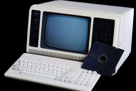 Computer from the early 1980s, billed as Reklamní fotografie - 1798695