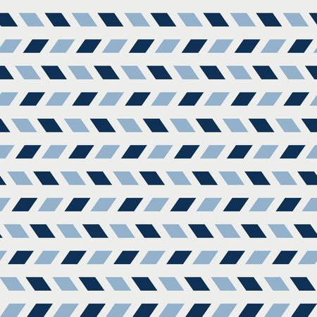 Vector Airmail Oblique Stripes in Blue Seamless Repeat Pattern Background