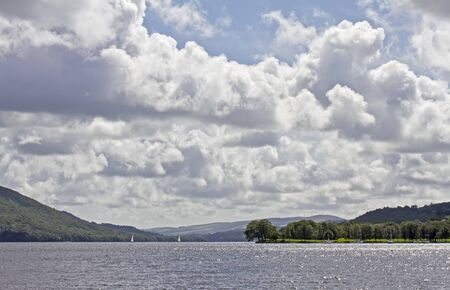 View of Lake Windemere Stock Photo