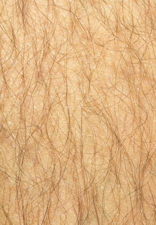 mann mit langen haaren: Mans haarige Bein