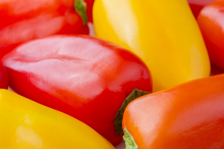 Close up image of Chiquino peppers