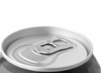 ring pull: Closeup ring pull on a beverage can