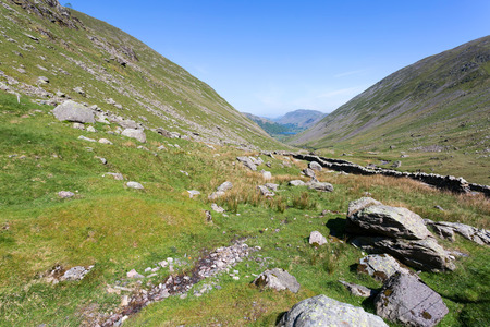 lake district: Kirkstone Pass in the Lake District, Cumbria Stock Photo