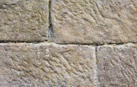 rough: Rough surfaced stone blocks