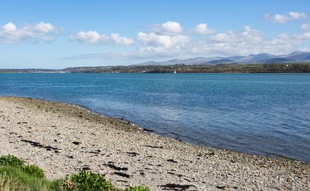 Menai straits in Anglesey North Wales