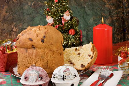 panettone&quot Christmas tradition  photo