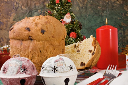Il panettone, tradition Christmas photo