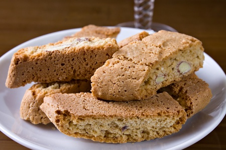 Cantucci - Typical biscuits from Tuscany (IT) photo