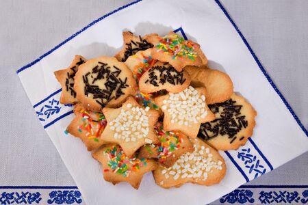 Tea biscuits photo