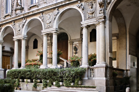 Piazza dei mercanti - Milano (IT)