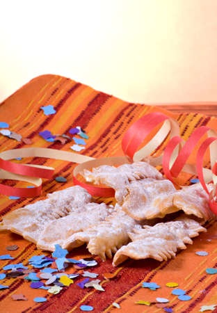 Chiacchiere - Traditional italian carnival pastry
