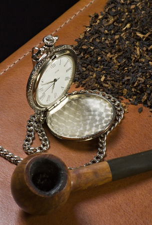 The old watch, the pipe and the tobacco
