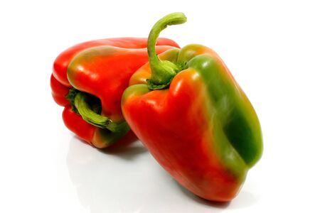 Bell peppers or pepperoni, Italian mediterranean diet Stock Photo - 13903075