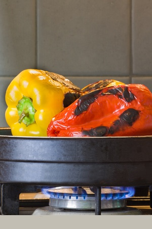 Homemade Grilled peppers