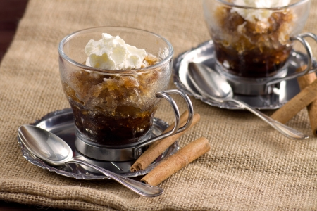Coffee granita - Granita al caff� photo