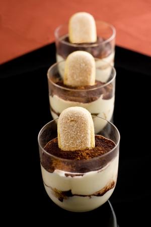 Traditional Italian dessert -  Tiramisu