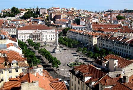 Praca do Rossio - Lisbon  Portugal