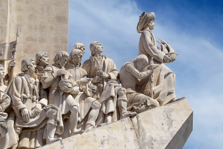 descubridor: Padro dos Descobrimentos - Lisboa Portugal