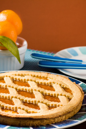 Fruit tart (crostata) photo