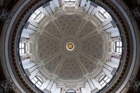 Dome of Supergas Basilica - View from inside