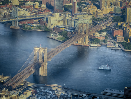 The famous bridges in New York (USA)