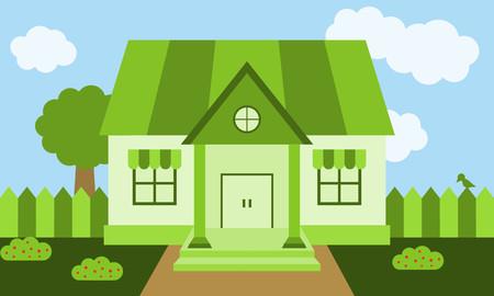wallpapaer: green house