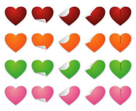 love sticker Illustration