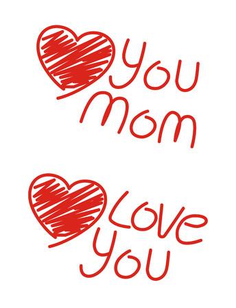 niños escribiendo: Dicen que el amor los hijos que el estilo Vectores