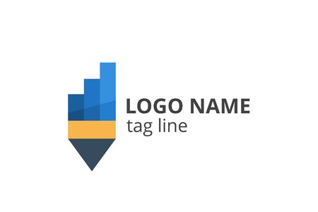 Creative Logo icon sign design Template for consultant company, accounting, finance, management business, investment corporate.