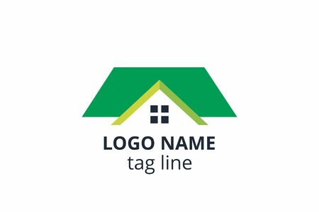 Creative shape structure design. Template icon logo for residential, construction corporate. Or any other company like apartment, villa, estate, house, building.