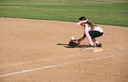 Player bobbling the ball