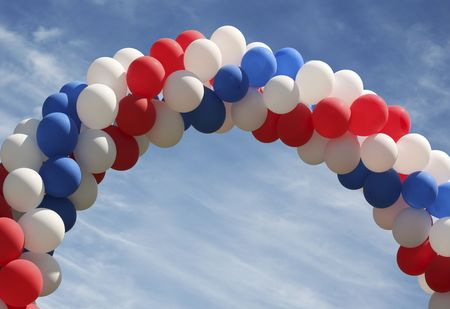 archway: Archway of balloons