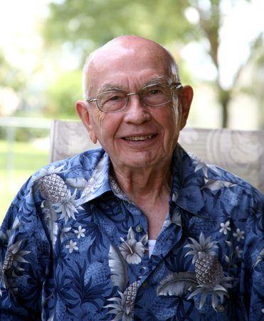 Older gentleman that's balding photo