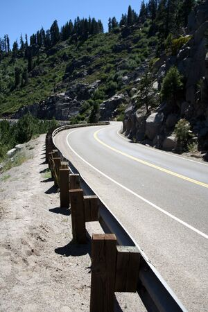 Roadway to nowhere Foto de archivo