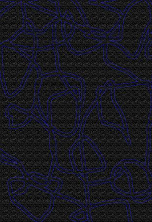 Blue maze with no beginning or ending 版權商用圖片