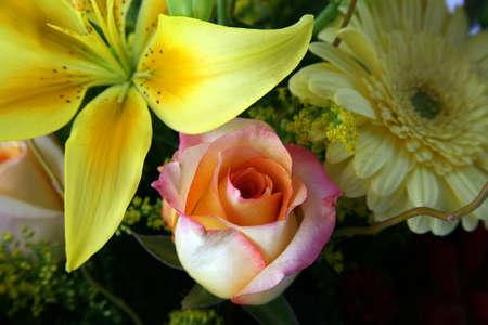Beautiful floral arrangement with vivid colors