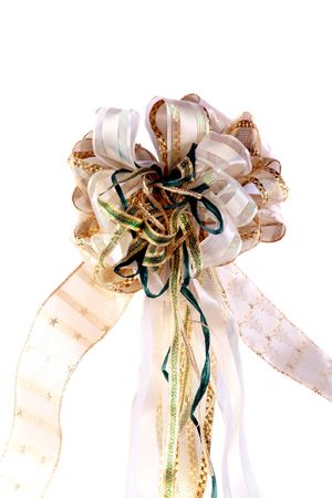 Beautiful handmade Christmas or other occasion bow photo