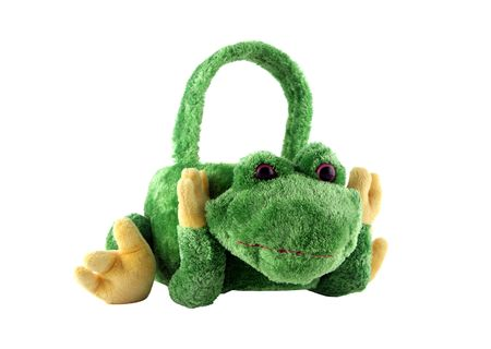 frog egg: Easter egg basket in the shape of a frog