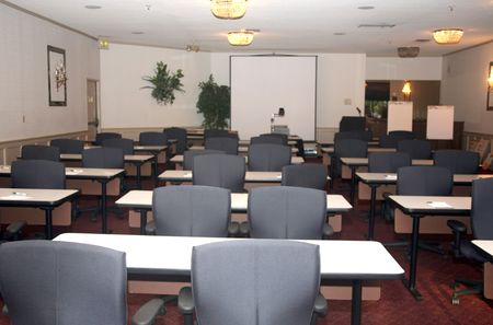 Main conference room used for presentations and schooling photo