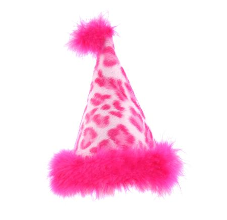 Party hat that is perfect for a pet or person Foto de archivo