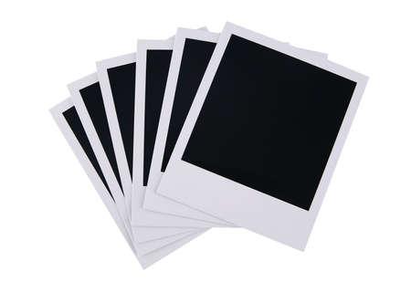 blanks: film blanks isolated on white background