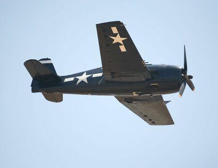 Americana della Seconda Guerra Mondiale da combattimento aereo o in aereo Archivio Fotografico - 4924190