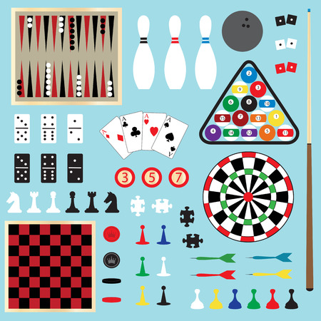 games clipart Vettoriali