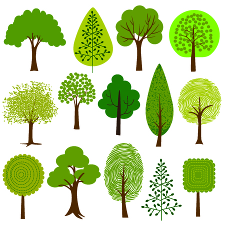 on the tree: trees clipart