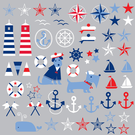compass rose: nautical clipart
