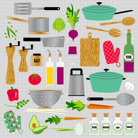 pot holder: kitchen cooking clipart