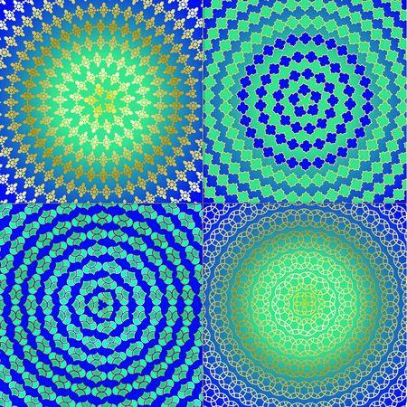moorish: Circular Geometric Patterns