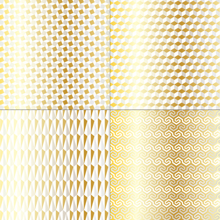 mod: Silver Gold Mod Geometric Patterns